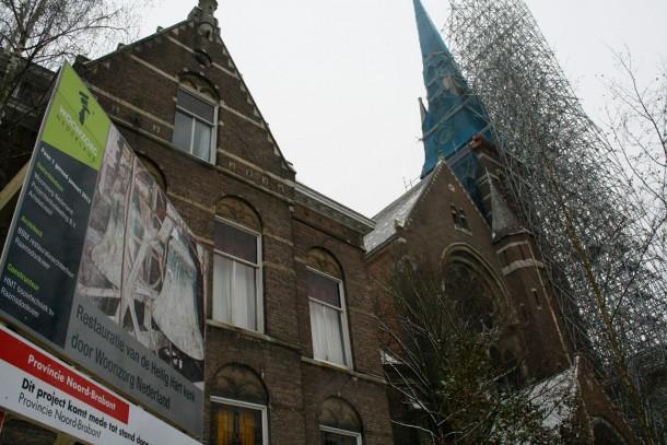 Krakers pastorie heilig hartkerk Breda naar antikraak